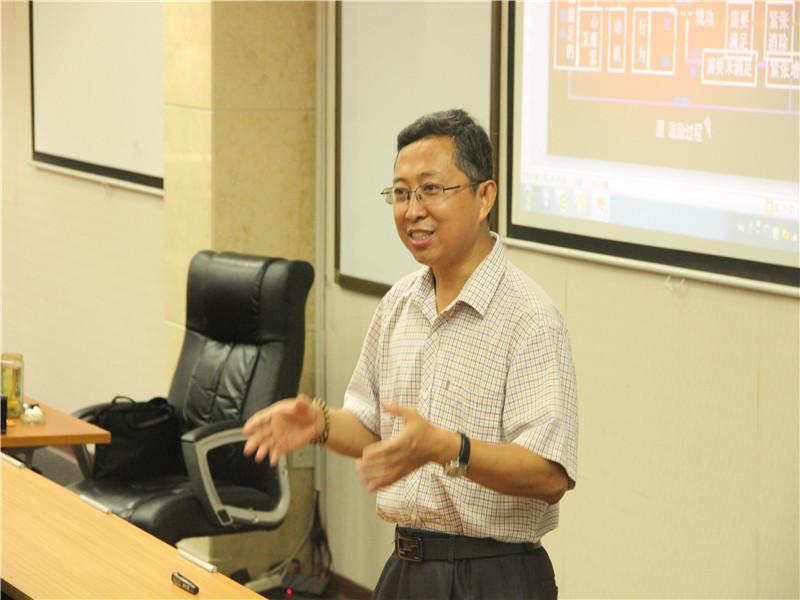 山东大学在职研究生王立生老师讲课图